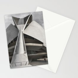 City of Arts and Sciences I | C A L A T R A V A | architect | Stationery Cards