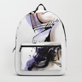 Shibari - Japanese BDSM Art Painting #13 Backpack