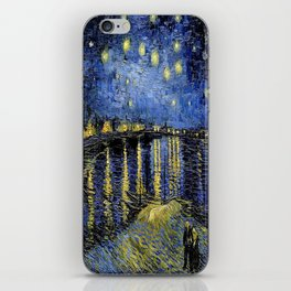 Vincent Van Gogh Starry Night iPhone Skin