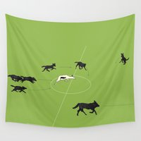 football Wall Tapestries featuring Football by Rubans