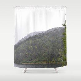 Season's First Snow Shower Curtain