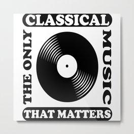 Classical Music Metal Print
