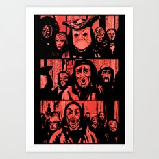Eyes Wide Shut #2 Art Print