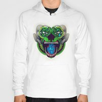 mythology Hoodies featuring Artificial Mythology by Diligence