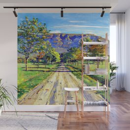 Ferdinand Hodler Road to Evordes Wall Mural