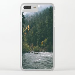 East Fork Hood River Clear iPhone Case