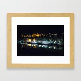 Heidelberg Castle at night Framed Art Print