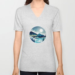 Morning Stars Unisex V-Neck