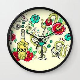 Snake Flash Wall Clock