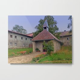 The village church of Eidenberg I | architectural photography Metal Print
