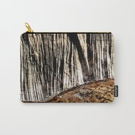 tree bark and wood Carry-All Pouch