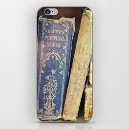 Poetical Works iPhone Skin