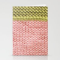 knit Stationery Cards featuring Knit by Melissa Jackson