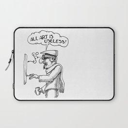 All Art Is Useless Laptop Sleeve