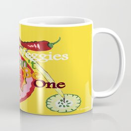 Don't Be A Vegetable Coffee Mug