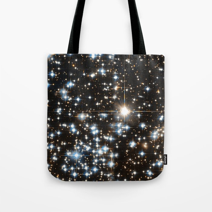 Sparkle Star Field in the Universe Tote Bag