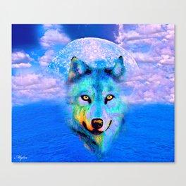 WOLF #2 Canvas Print