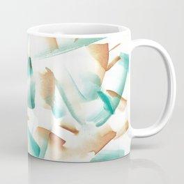 180719 Koh-I-Noor Watercolour Abstract 6| Watercolor Brush Strokes Coffee Mug