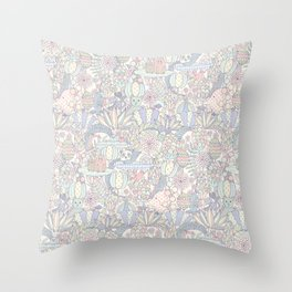 Animal Forest  Throw Pillow