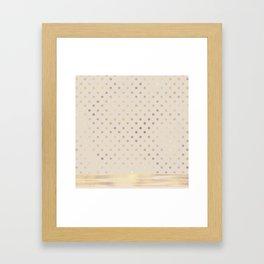 AFE Polka Dots Framed Art Print