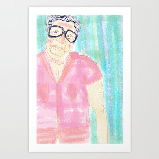 Oh Morty! Art Print