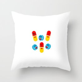 """Are You A Loving Person? Then This Is Te Perfect Tee For You Saying """"Your Love Is My Drug"""" T-shirt Throw Pillow"""