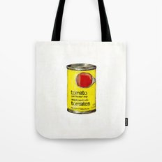 No Name Brand Tomato Soup Tote Bag
