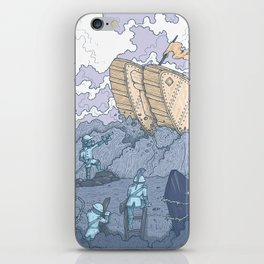 The Trench Blue iPhone Skin