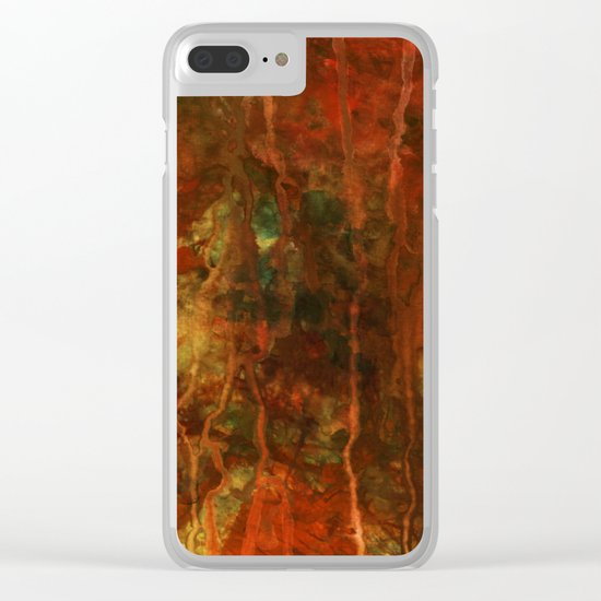 Improvisation 31 Clear iPhone Case