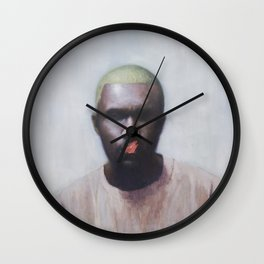 Blonde (Frank) Wall Clock