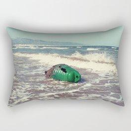 the green buoy Rectangular Pillow