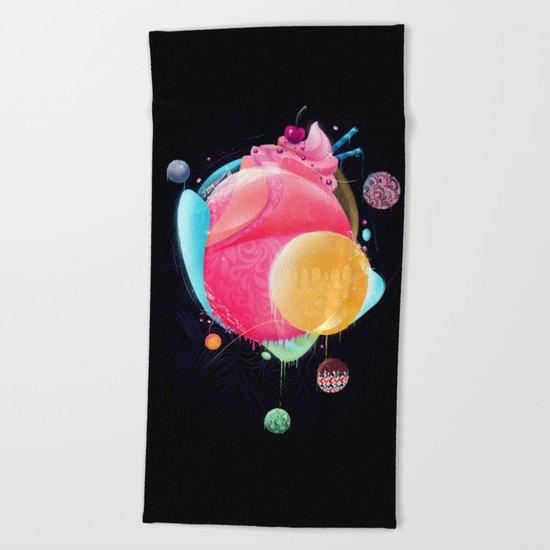 Sunday Candy Beach Towel