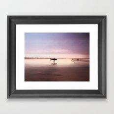 Pink Surf Framed Art Print