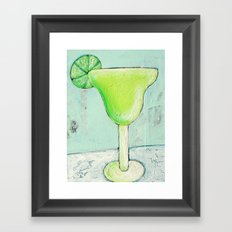 If life gives you limes... Framed Art Print