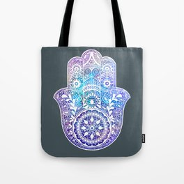 Space Hamsa Hand - I Tote Bag