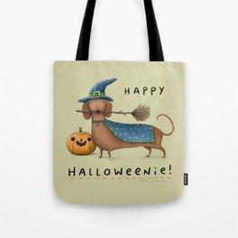 Happy Halloweenie! Tote Bag