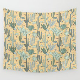 Succulent Guns Wall Tapestry