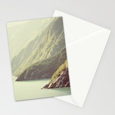 Alaskan hills fading Stationery Cards