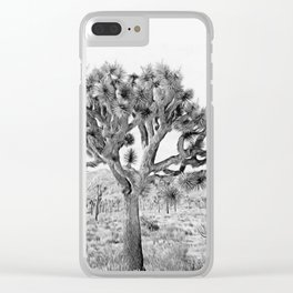 Joshua Tree Giant by CREYES Clear iPhone Case