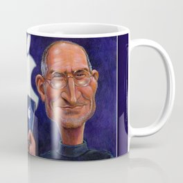 Steve Jobs: Think Different Coffee Mug