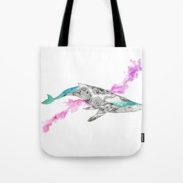 The Wonder Whale Tote Bag