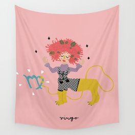 virgo Wall Tapestry