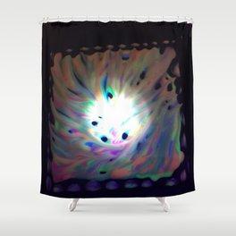 Cosmic exploration Shower Curtain