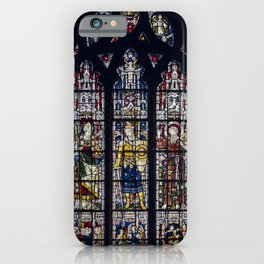 Good Knight Stained Glass Window Stratford Upon Avon England iPhone Case