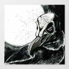 Crowman Burana Canvas Print