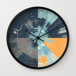Pixel Sorting 86 Wall Clock