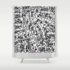 - fresque_01 - Shower Curtain