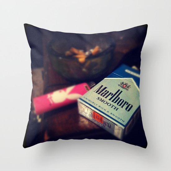 Marborol Smooths Throw Pillow