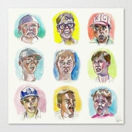 The Sandlot Boys Canvas Print