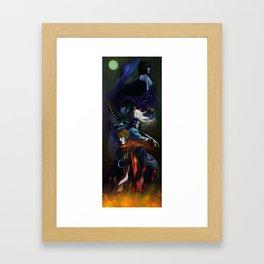 Samurai X - Trust and Betrayal Framed Art Print
